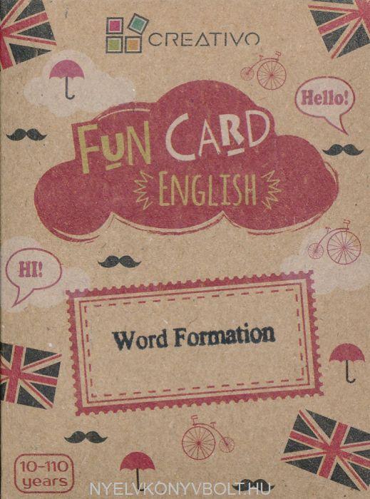 Fun Card English: Word Formation