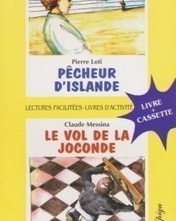 Pecheur d'islande/Le vol de la Joconde avec CD Audio - La Spiga Lectures Facilités (A2)