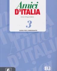 Amici D'Italia 3 Guida per L'Insegnante + CD Audio (3)