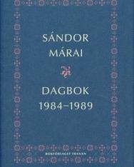 Márai Sándor: Dagbok 1984-1989
