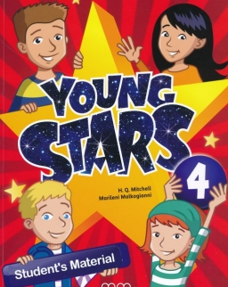 Young Stars Level 4 Student's Book with My Alphabet Book