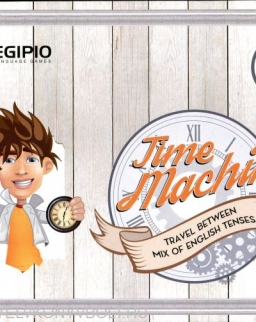TIME MACHINE Travel Between Mix of English Tenses New Edition
