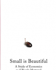 E F Schumacher: Small Is Beautiful: A Study of Economics as if People Mattered