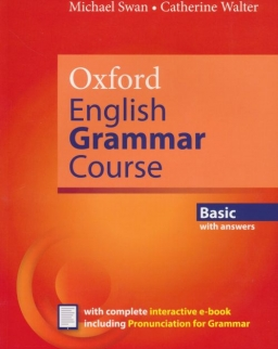 Oxford English Grammar Course Basic with Answers with Complete Interactive E-Book Including Pronunciation for Grammar