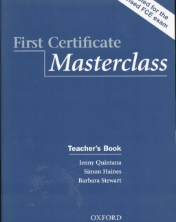 First Certificate Masterclass 2008 Edition Teacher's Book