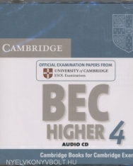 Cambridge BEC Higher 4 Official Examination Past Papers Audio CD