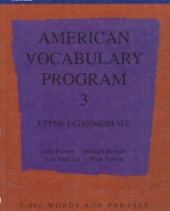 AMERICAN VOCABULARY PROGRAM BOOK 3