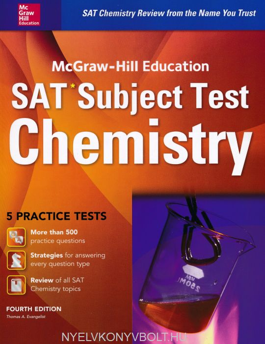 SAT Subject Test Chemistry 5 Practice Test Fourth Edition