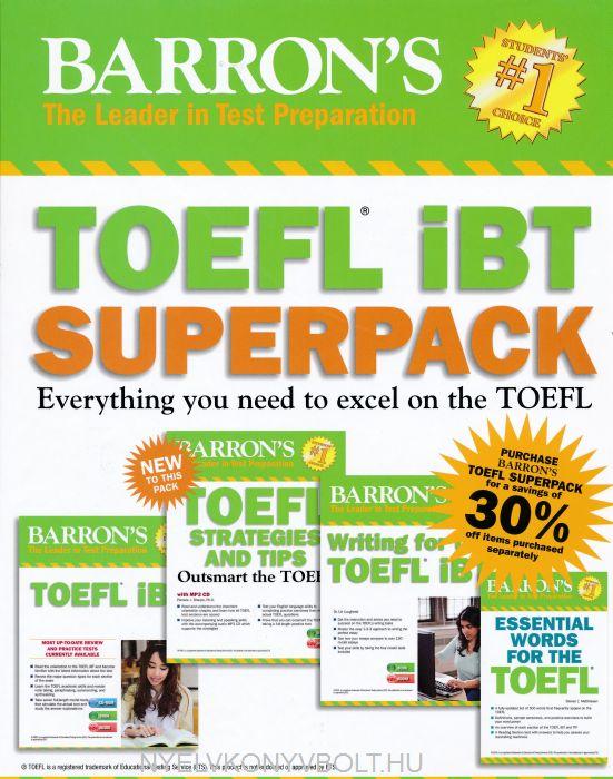 Barron's TOEFL iBT Superpack, 3rd Edition