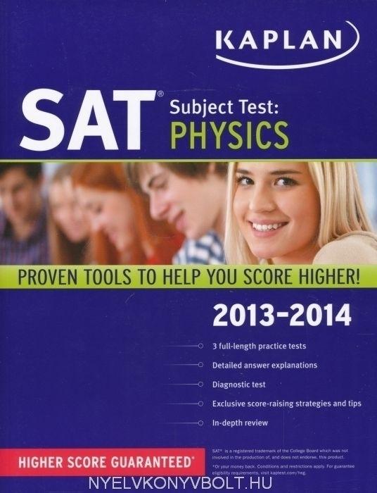 Kaplan SAT Physics 2013-2014