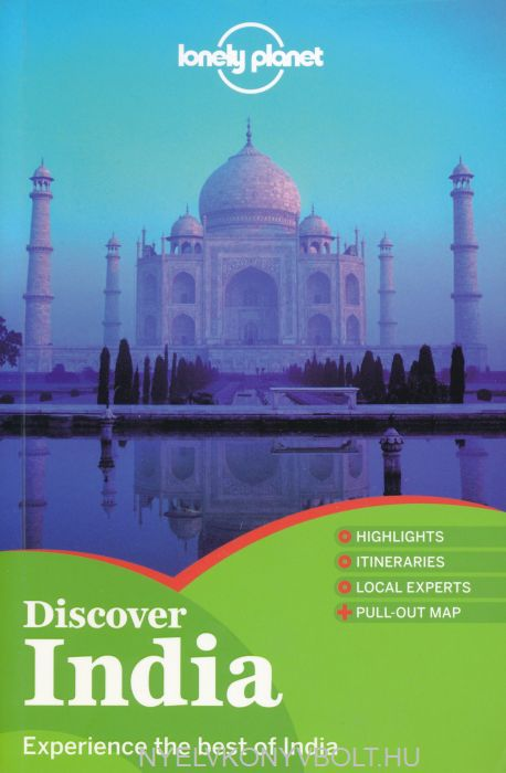 Lonely Planet Country Guide Discover India