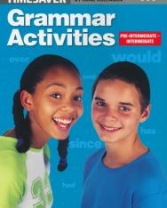 English Timesavers: Grammar Activities: Pre-intermediate-Intermediate - Photocopiable
