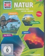 Was ist was: Natur - Dinos, Erde, Wetter, Vulkane DVD(4)