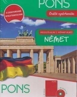 PONS Német Megszólalni 1 hónap alatt Tankönyv + Audio CD