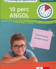10 perc angol - Szövegírási gyakorlatok (10 éves kortól)