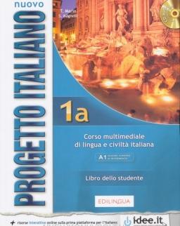 Nuovo Progetto Italiano 1a Libro dello studente + CD audio - Edizione Ungerese 2016