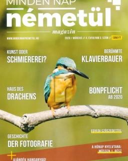 Minden Nap Németül magazin 2020 március