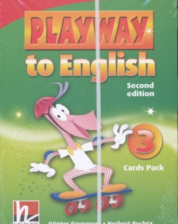 Playway to English - 2nd Edition - 3 Cards Pack
