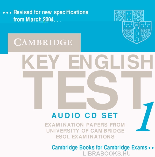Cambridge Key English Test 1 Official Examination Past Papers 2nd Edition Audio CDs (2)