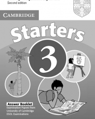 Cambridge Young Learners English Tests Starters 3 Answer Booklet