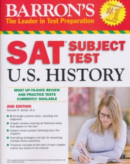 Barron's SAT Subject Test U.S. History (2nd edition)