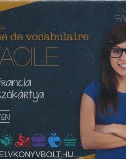 Pratique de vocabulaire FACILE - 400 francia szókártya kezdő szinten