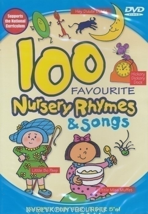 100 Favourite Nursery Rhymes & Songs DVD