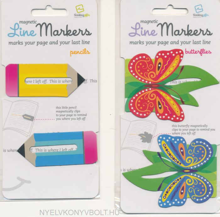 Line Markers - Pencils, Butterflies, Critters
