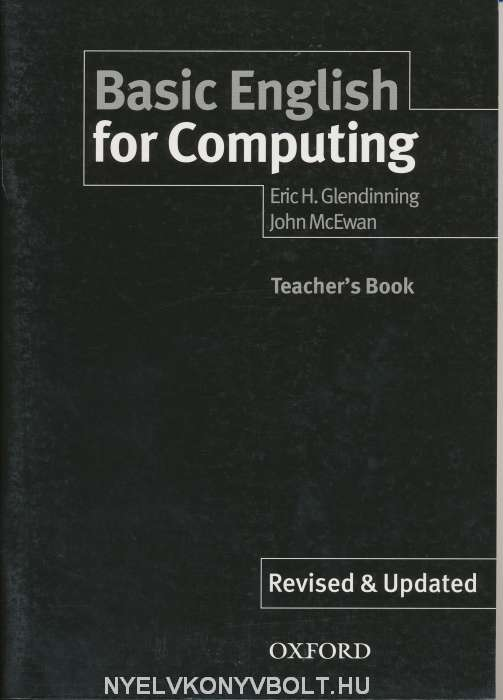 Basic English for Computing, New Edition Teacher's Book