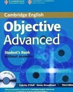Objective Advanced 3rd Edition Student's Book without Answers with CD-ROM