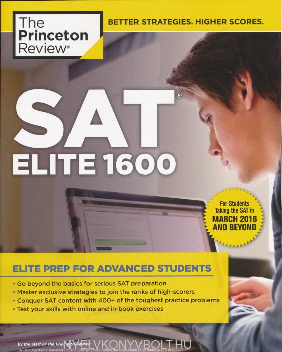 The Princton Review SAT Elite 1600 - For the Redesigned 2016 Exam