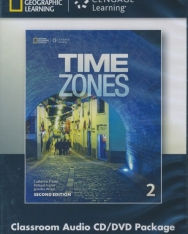 Time Zones 2 Classroom Audio CD & DVD - Second Edition