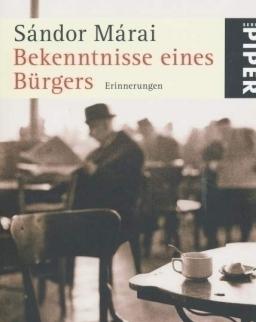 Márai Sándor: Bekenntnisse eines Bürgers (Egy polgár vallomásai német nyelven)