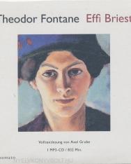 Theodor Fontane: Effi Briest, Volltextlesung von Axel Grube, 1 mp3-CD in handgefertigter Papphülle