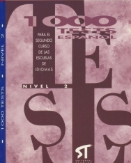 1000 Tests Espanol - Nivel 2