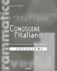 Conoscere L'Italiano 1 Basi grammaticali della lingua italiana - Soluzioni