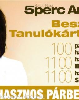 Beszélő Tanulókártyák - 100 hasznos párbeszéd - 5 Perc Angol