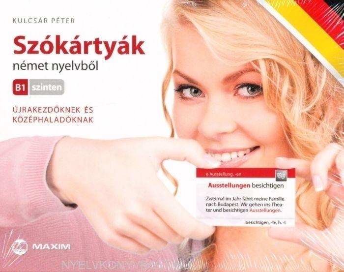 Szókártyák Német nyelvből B1 szinten