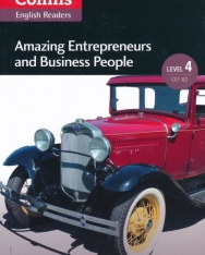 Amazing Enterpreneurs and Business People with MP3 Audio Download - Collins English Readers - Amazing People