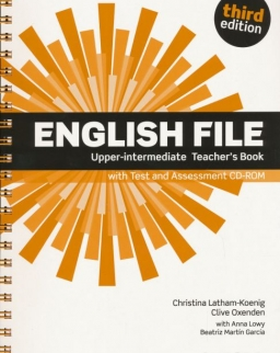 English File - 3rd Edition - Upper-Intermediate Teacher's Book with Test and Assessment CD-ROM
