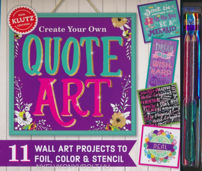 Create Your Own Quote Art