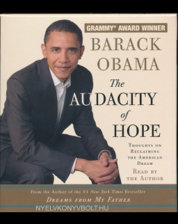 Barack Obama: The Audacity of Hope Audio Book (5CDs)