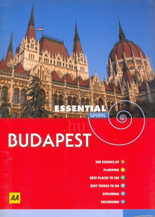 Budapest - AA Essential spiral guide