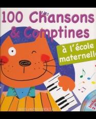 100 chansons et comptines a l'école maternelle+Cd