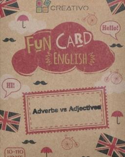 Fun Card English: Adverbs vs Adjectives