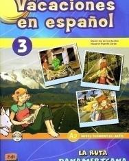 Vacaciones en Espanol 3 nivel elemental-alto A2 Libro incluye CD