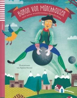 Baron von Münchhausen uns seine wundersamen Geschichten mit CD Audio - Junge ELI Lektüren Niveau 1