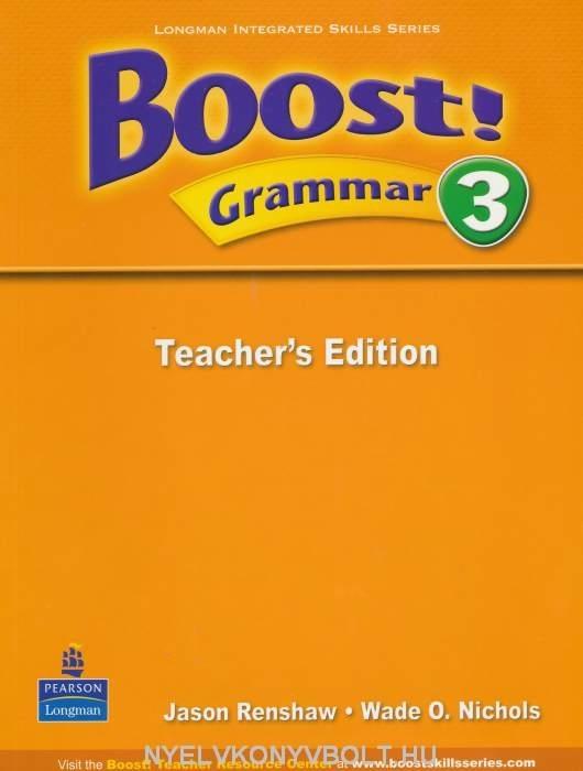Boost! Grammar 3 Teacher's Edition