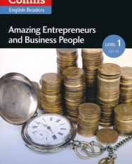 Amazing Entrepreneurs & Business People (Collins English Readers) + MP3 Audso CD - Level 1 A2