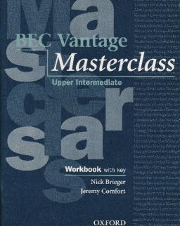 BEC Vantage Masterclass Upper-Intermediate Workbook with Key and Audio CD